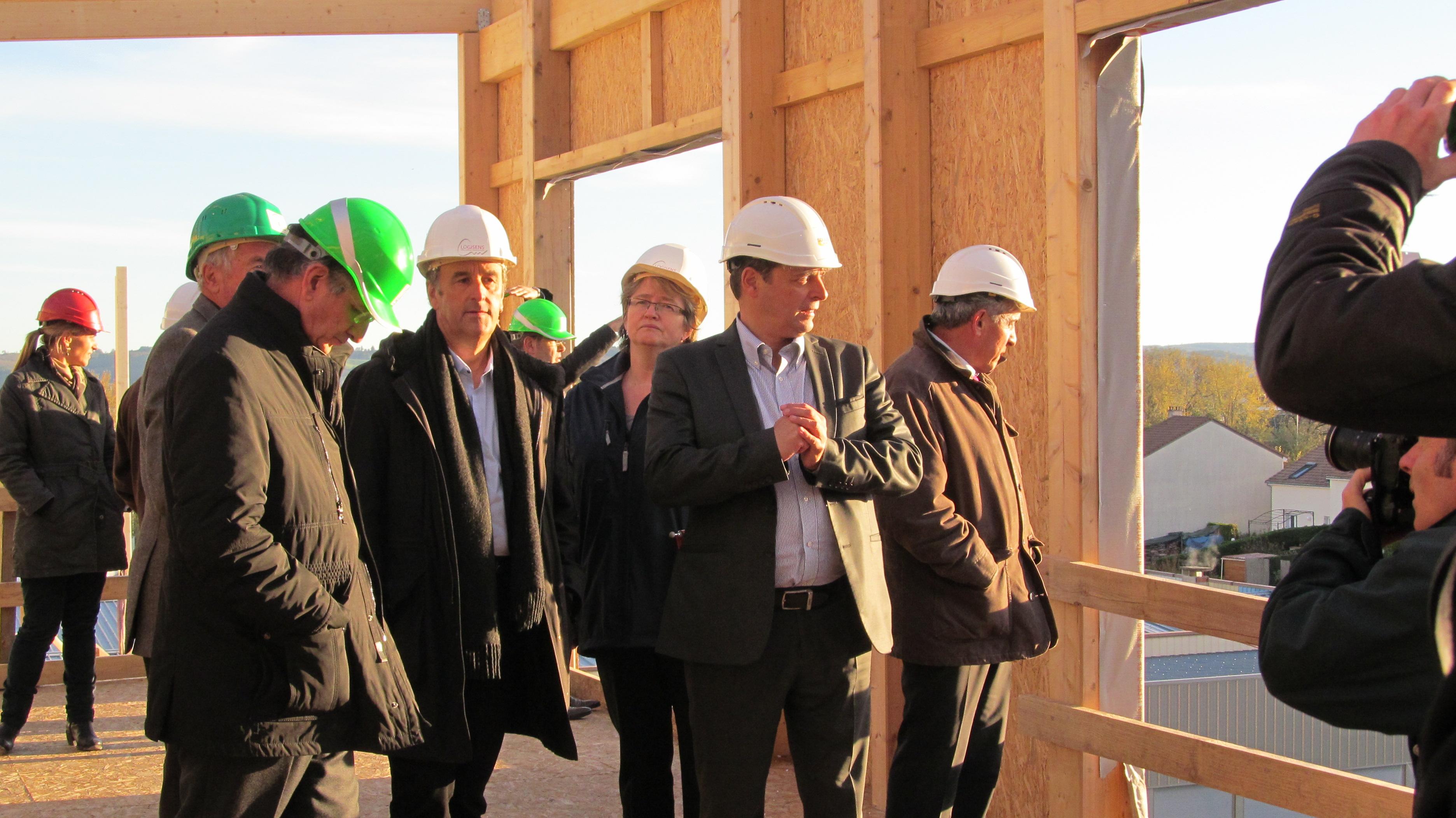 Visite de chantier du 29 octobre 2012
